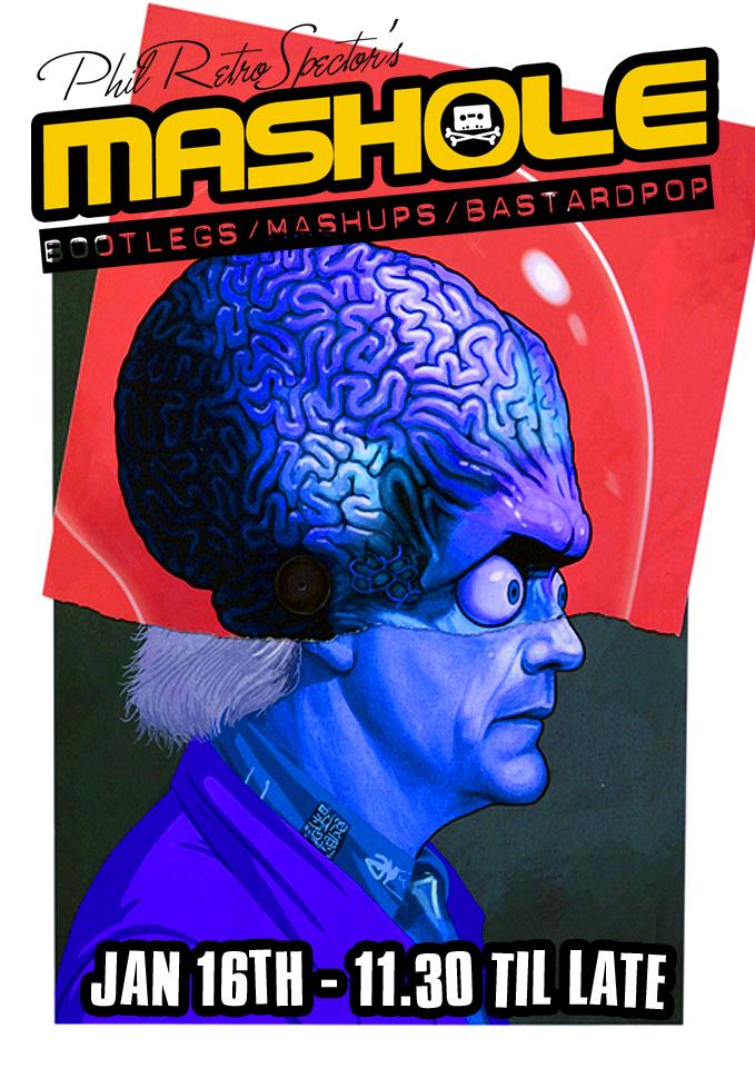 mashole poster brain copy